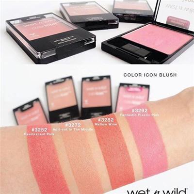 KATH推荐 Wet n Wild color icon blush WNW维特娃单色腮红红胭脂持久裸妆多色可选维特娃单