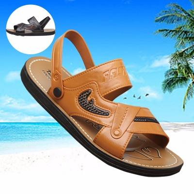 【断底包换】夏季凉拖鞋男凉鞋休闲沙滩鞋透气凉拖两穿鞋男鞋防滑