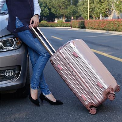 铝框拉杆箱24寸男女旅行箱22行李箱28寸学生密码箱包万向轮皮箱子