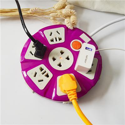 家用多功能插座智能插排宿舍多孔插线板2 3 5米带超长拖线板延长
