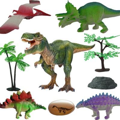 侏罗纪世界儿童恐龙玩具套装超大霸王龙仿真动物实心恐龙大号模型