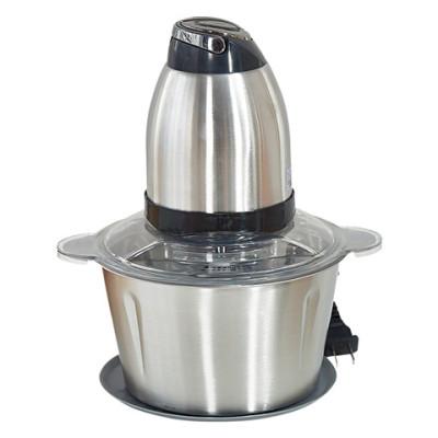 【全不锈钢 2L 钢轴】绞肉机家用电动不锈钢碎肉机绞辣椒绞蒜泥