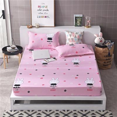 全包床垫套单件榻榻米床笠罩卡通单双人1.8米2小清新碎花防尘床套